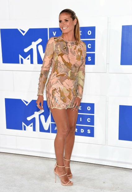 heidi klum mtv video music awards