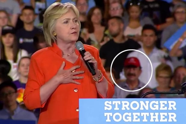 Orlando Shooter's Father Appears at Clinton Rally