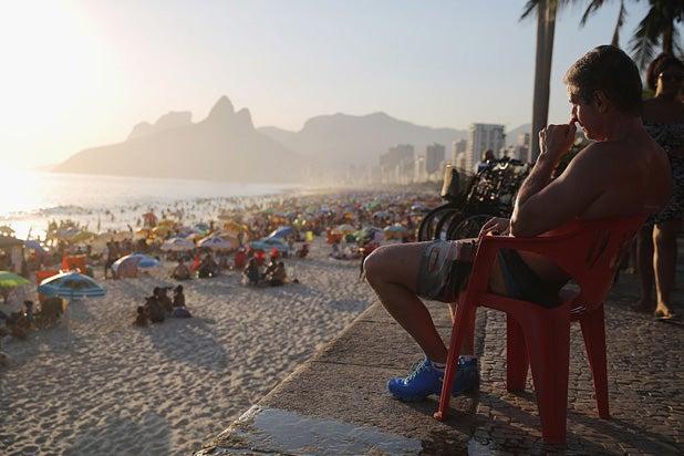 Rio Olympics Ipanema
