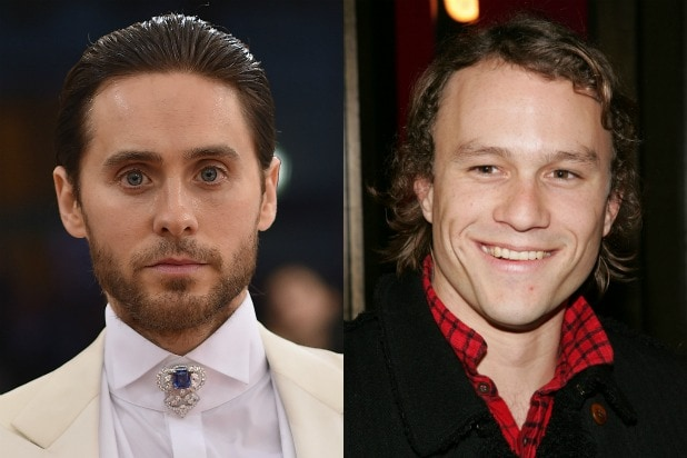 jared leto heath ledger joker