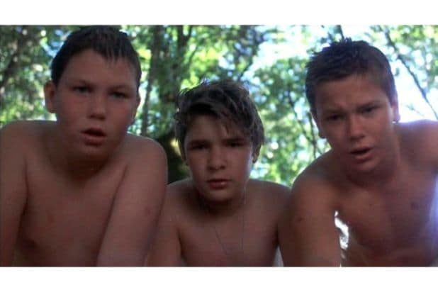 Stand by Me River Phoenix Wil Wheaton Corey Feldman Jerry OConnell leeches