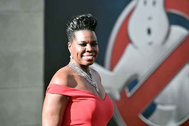 leslie jones ghostbusters premiere