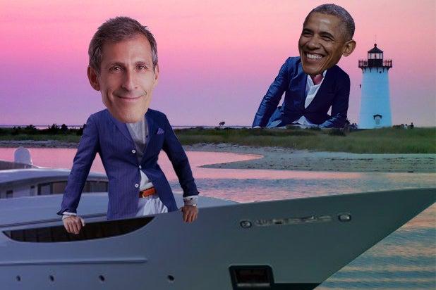 Michael Lynton Moguls on a Boat