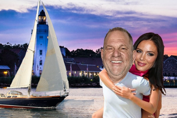 Harvey Weinstein Georgina Chapman Moguls on a Boat