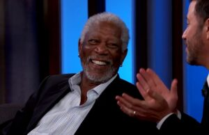 morgan freeman jimmy kimmel