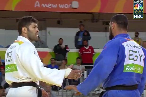 Olympics Judo Handshake