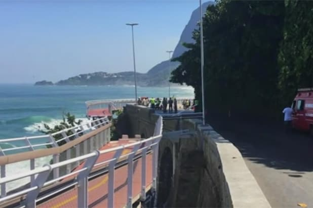 Rio Olympics bike path