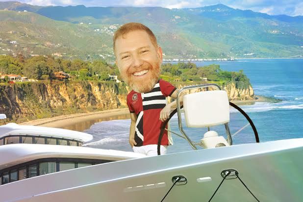 ryan kavanaugh moguls on a boat