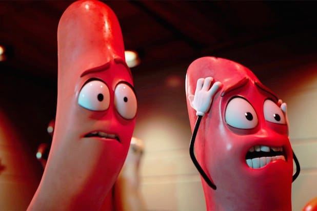 Sausage Party seth rogen box office