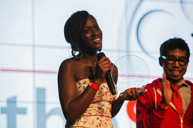 Mamouna Doucoure 5th Annual Shortlist Film Festival Awards Ceremony.