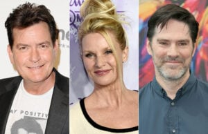 tv stars fired sheen, sheridan, gibson