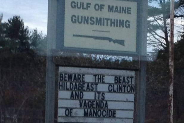 vagenda of manocide gulf of maine