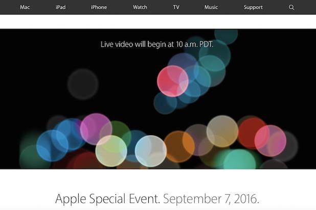 Apple Event iPhone 7 headphone jack