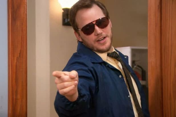 Burt Macklin Chris Pratt Parks and Rec