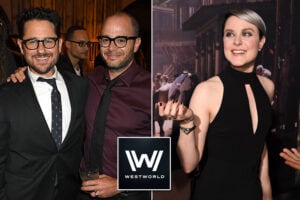 westworld JJ Abrams, Damon Lindelof, Evan Rachel Wood