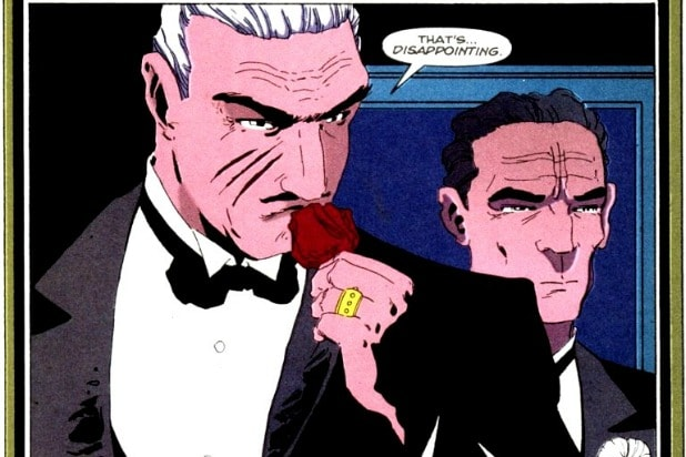Carmine Falcone Deathstroke The Batman