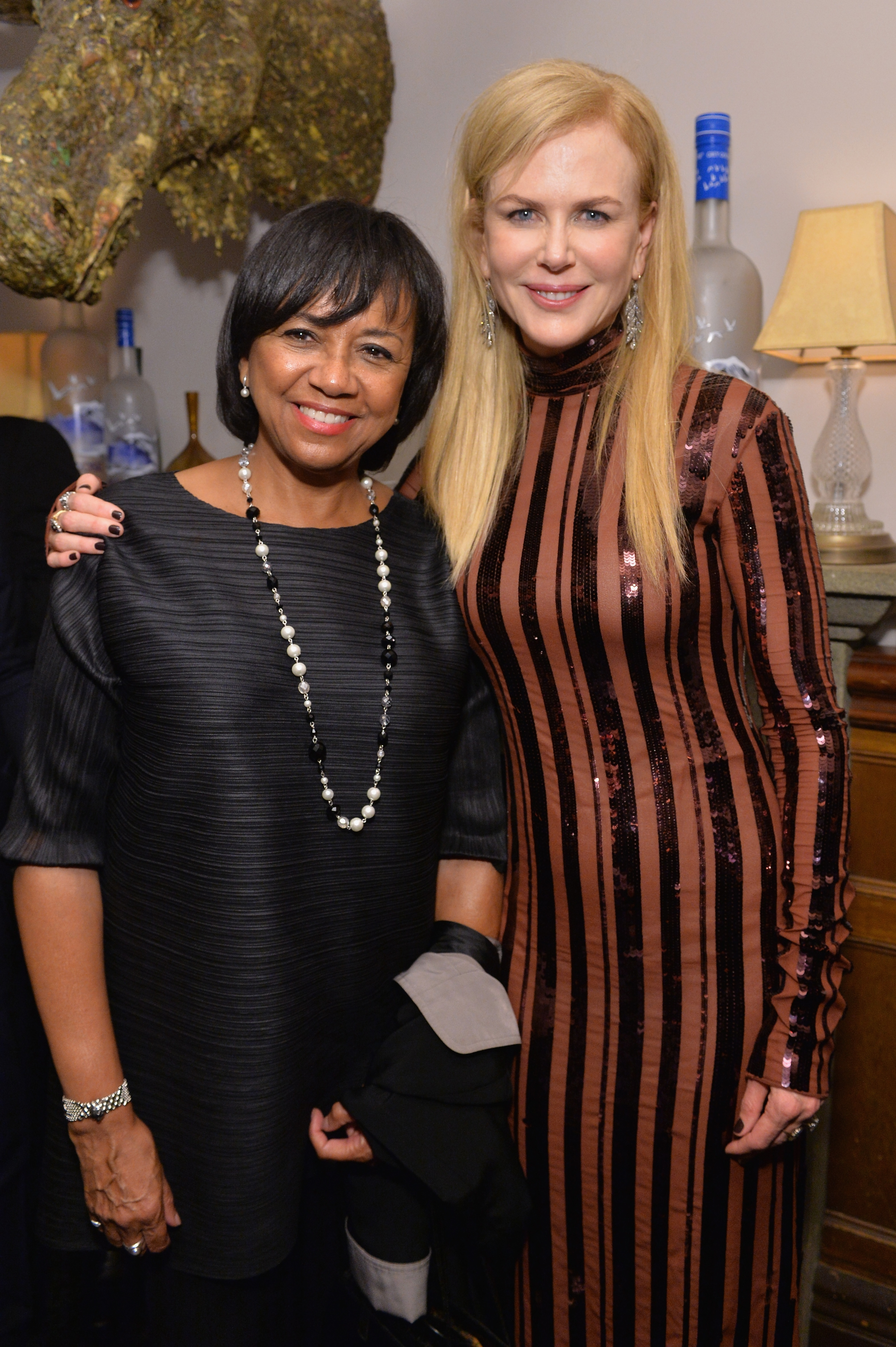 President of the Academy of Motion Picture Arts and Science Cheryl Boone Isaacs and actress Nicole Kidman