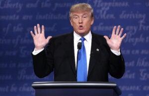 Donald Trump First Presidential Debate 2016