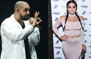 "Ariel Winter, Jamie Foxx, Austin Mahone, and Devin Brugman were amongst the Drake fans at a private suite party during the first L.A. show of the ""Summer Sixteen"" tour. (Vivian Killea/Getty Images for AQUAHydrate)"