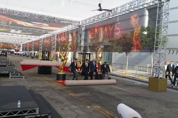 Emmys longest red carpet in history