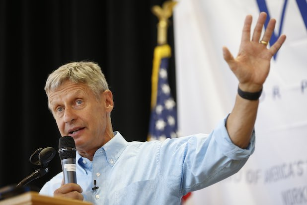 Gary Johnson Libertarian Chicago Tribune Presidential Endorsement
