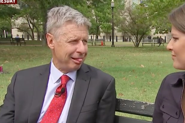 Gary Johnson Admits He 'Wasn't Meant to Be President'