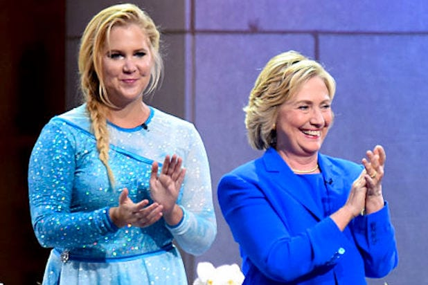 Amy Schumer Jeff Ross Andy Kindler Host Hillary Clinton Comedy Findraiser in DC