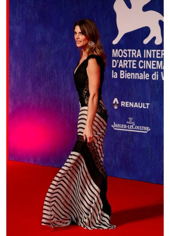 Actress Ashley Greene attends the premiere of 'In Dubious Battle' during the 73rd Venice Film Festival at Sala Giardino on September 3, 2016 in Venice, Italy. (Photo by Andreas Rentz/Getty Images)