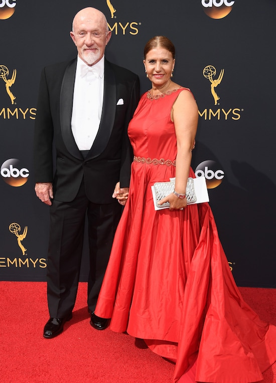 68th Annual Primetime Emmy Awards Jonathan Banks and Gennera Banks