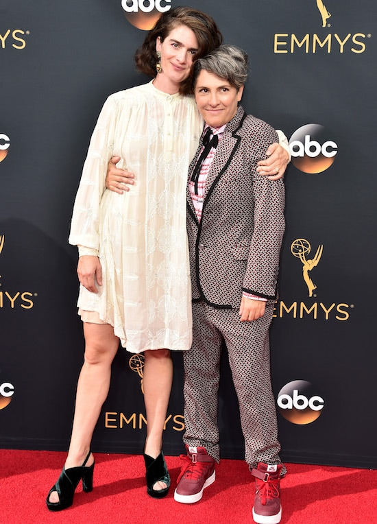 68th Annual Primetime Emmy Awards Gaby Hoffmann and Jill Soloway