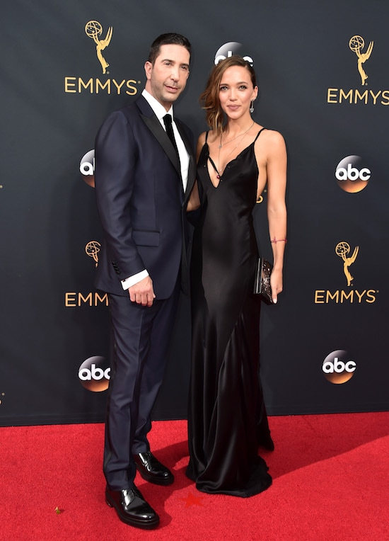 68th Annual Primetime Emmy Awards David Schwimmer and Zoe Buckman