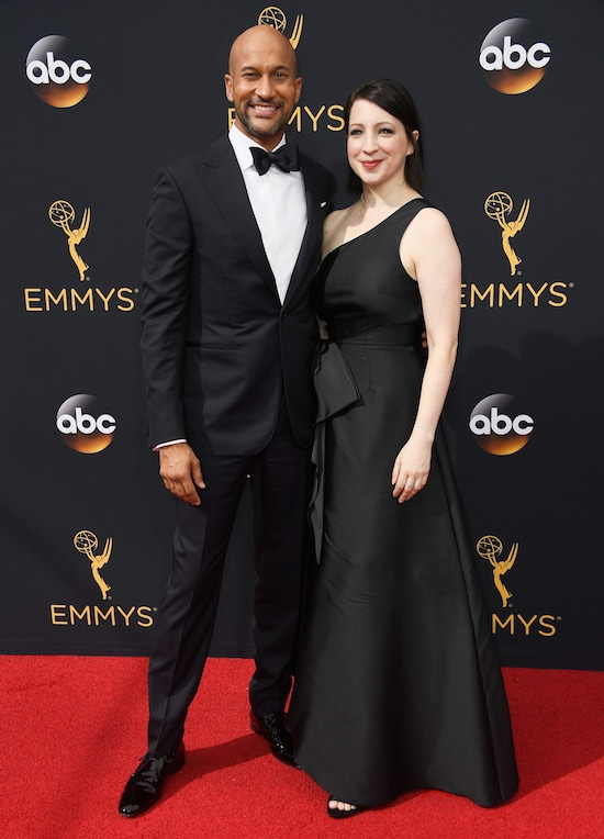 68th Annual Primetime Emmy Awards Keegan Michael Key and Elisa Pugliese