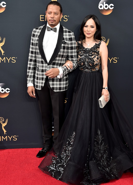 68th Annual Primetime Emmy Awards Terrence Howard and Mira Pak