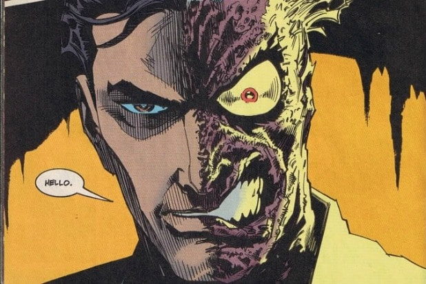 Image result for harvey dent two face