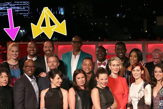 2016 Emmy Nominees Class Photo