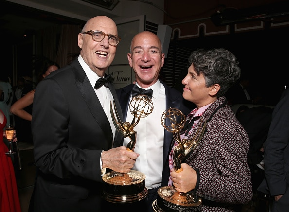 effrey Tambor, Jeff Bezos, CEO of Amazon.com, Inc. and Writer/director Jill Soloway