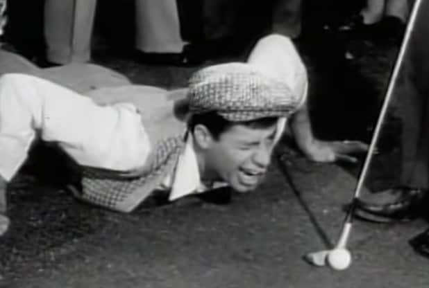 Jerry Lewis The Caddy