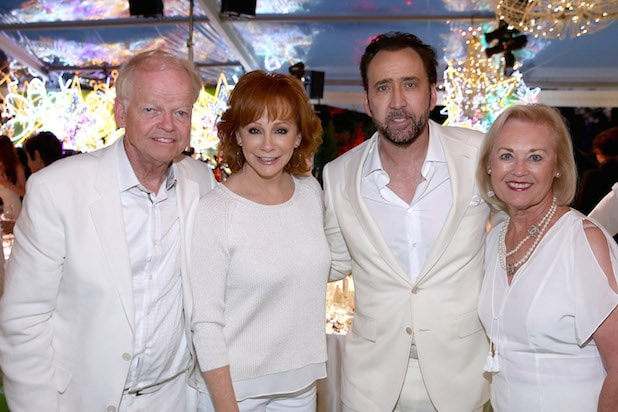 Jimmy Walker, Reba McEntire, Nicolas Cage and Nancy Walker