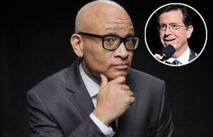Larry Wilmore and Stephen Colbert