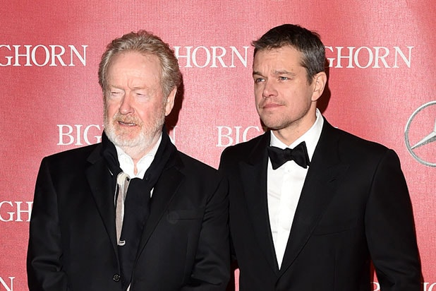 Matt Damon Ridley Scott