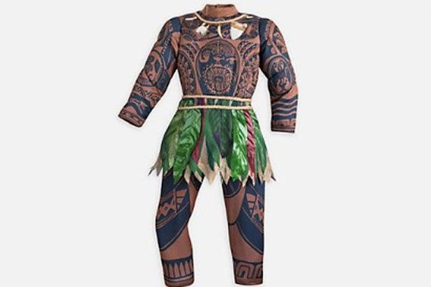 Disney pulls Moana costume