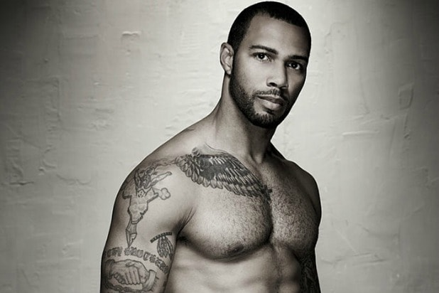 Omari Hardwick shirtless