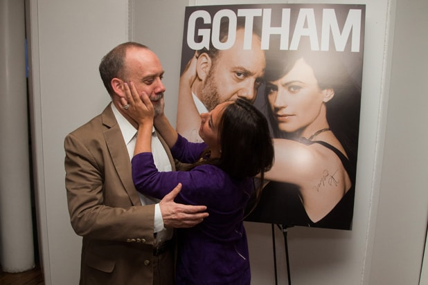 Paul Giamatti and Samantha Yanks,