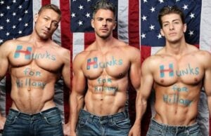 Underwear Model Launches 'Hunks for Hillary' Campaign That's Sure to Activate Your Yummy