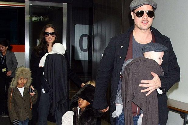 Pitt Jolie Kids
