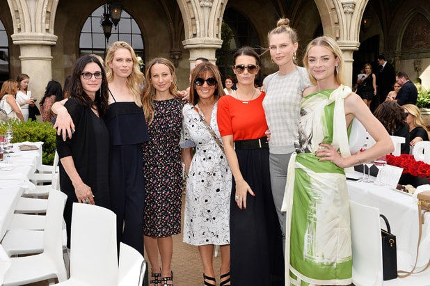 Courteney Cox, Erin Foster, Jennifer Meyer, Shelli Azoff, Cassandra Grey, Erin Foster and Jaime King