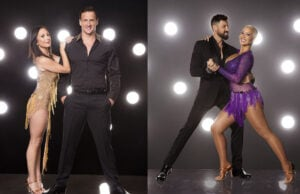 Ryan Lochte and Amber Rose DWTS