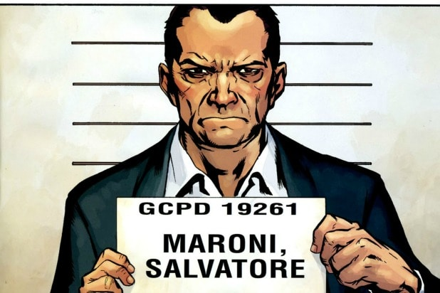 Sal Maroni Deathstroke The Batman