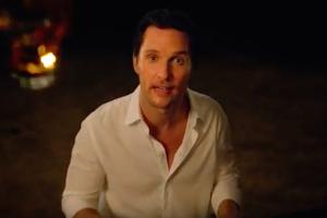 Wild Turkey Matthew McConaughey Behind the Scenes piano