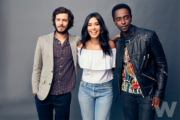 Startup Edi Gathegi Otmara Marrero and Adam Brody